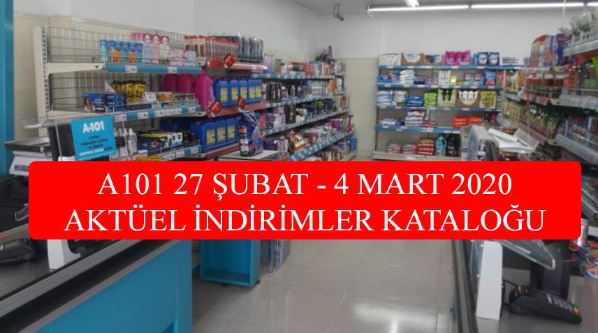 A101 27 Şubat 2020 Perşembe Aktüel İndirim Kataloğu (27.02.2020 A101 Aktüel İndirimleri)